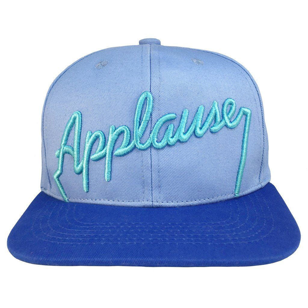 a0866ce0f71d35 Complete your Genie DisneyBound with our Friend Like Me snapback! Perfect  for Aladdin fans, this hat features Applause in 3D embroidery on a two-tone  blue ...