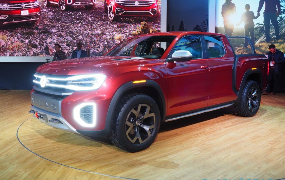Vw Atlas Tanoak First Look Volkswagen Build This Pickup Pickup Trucks Volkswagen Vw Amarok