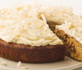 Sour Cream Carrot Cake: A classic carrot cake made even more moist with the addition of a generous dollop of sour cream.