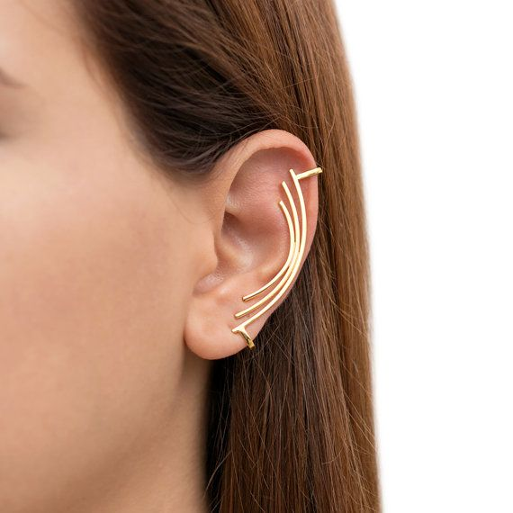 Gold Ear Cuff No Piercing