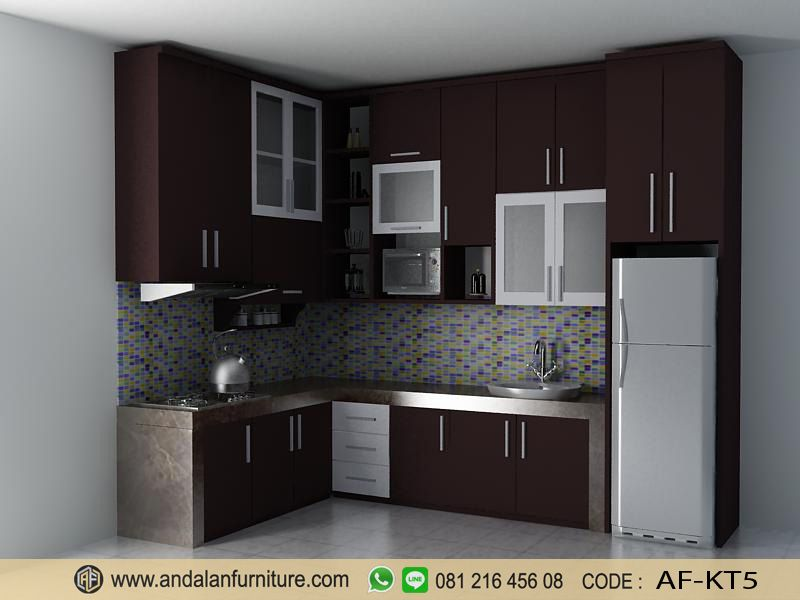 Kitchen Set Lemari Dapur Minimalis Murah 5 Kitchen Set Lemari