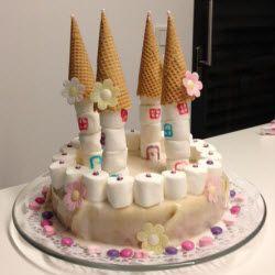 Rezeptbild Prinzessin Torte Schloss Geburtstag Prinzessinnen