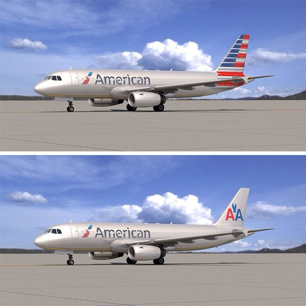 American Airlines. Old or new?