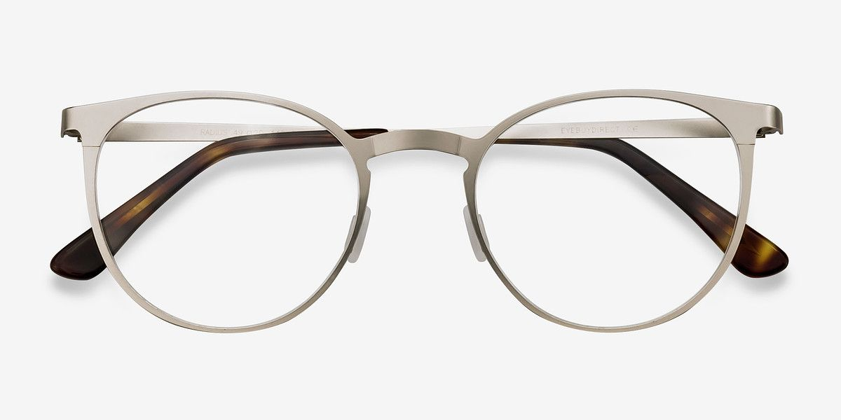 e68d6584262 Radius Silver Metal Eyeglasses from EyeBuyDirect. Come and discover these  quality glasses at an affordable price. Find your style now with this frame.