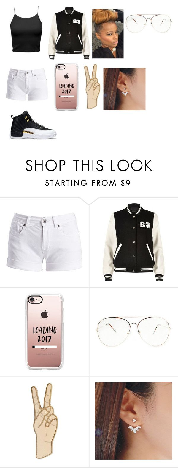 """""""Peace 2016 Time For 2017"""" by jaden-norman ❤ liked on Polyvore featuring Barbour International, River Island, Casetify and Lucky Brand"""