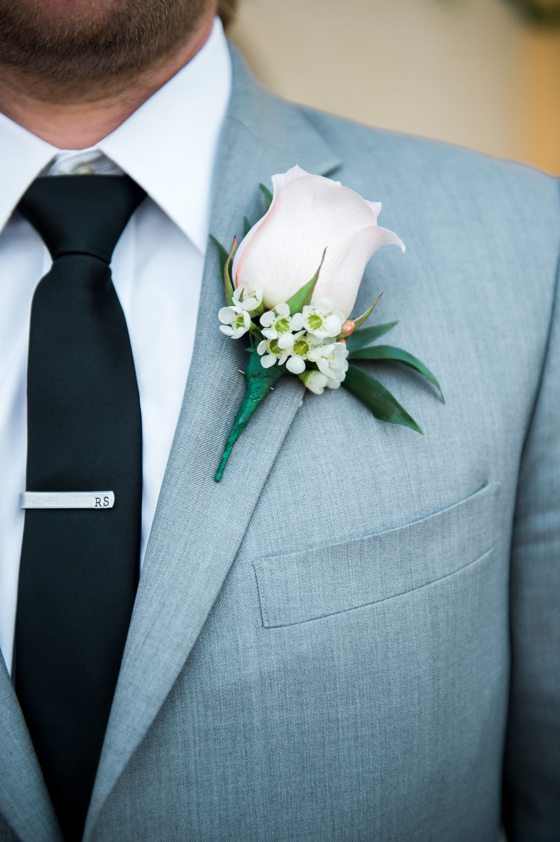 Chic Country Outdoor Wedding At The Gardens | Grooms, Boutonnieres ...