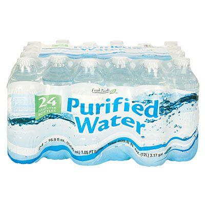 Fresh Finds Purified Water 24 Pack Water Purifier Big Lots Purifier