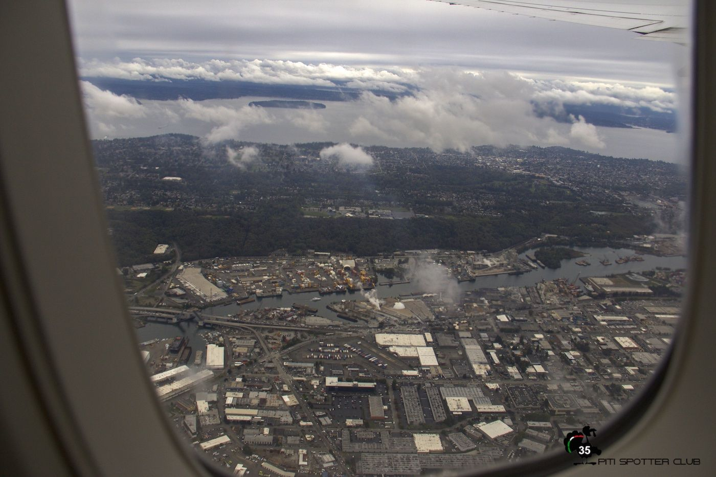 Climbing over Seattle