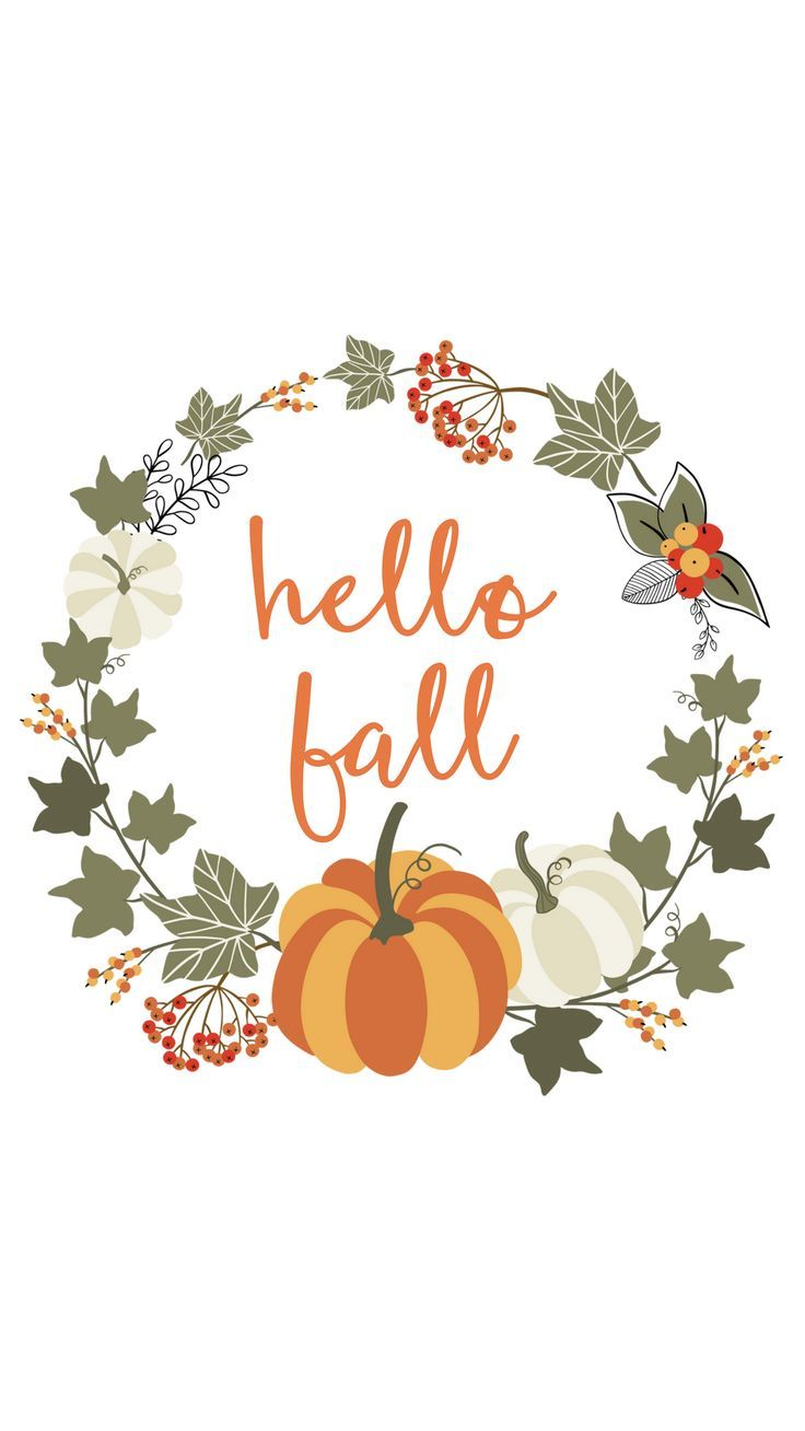 Cute fall graphic Fall wallpaper, Hello autumn, Phone