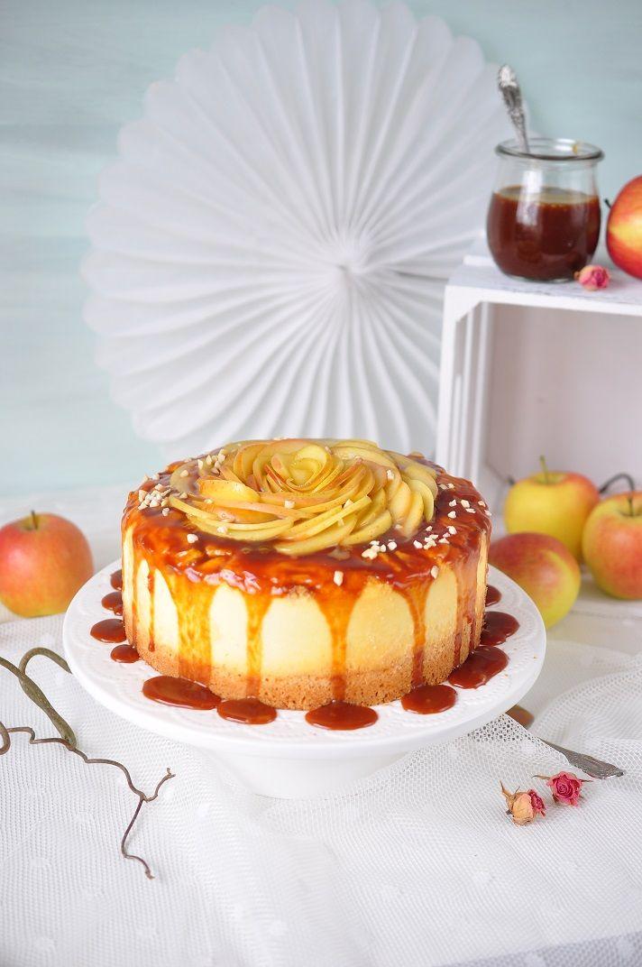 Apfel Karamell Cheesecake Kuchen Und Torten Kuchen Kuchen Rezepte