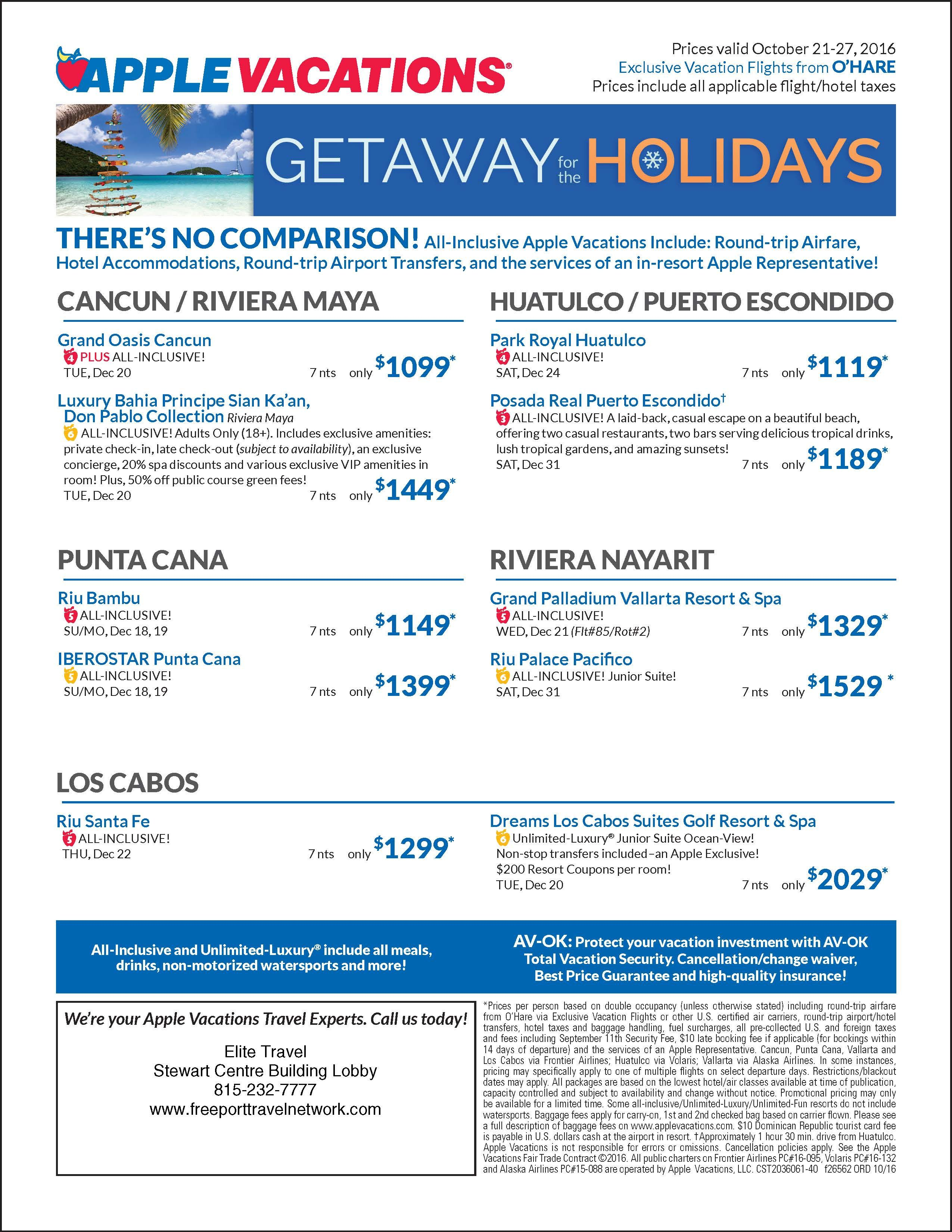 Quick Plan Your Winter Vacation While The Deals Are In
