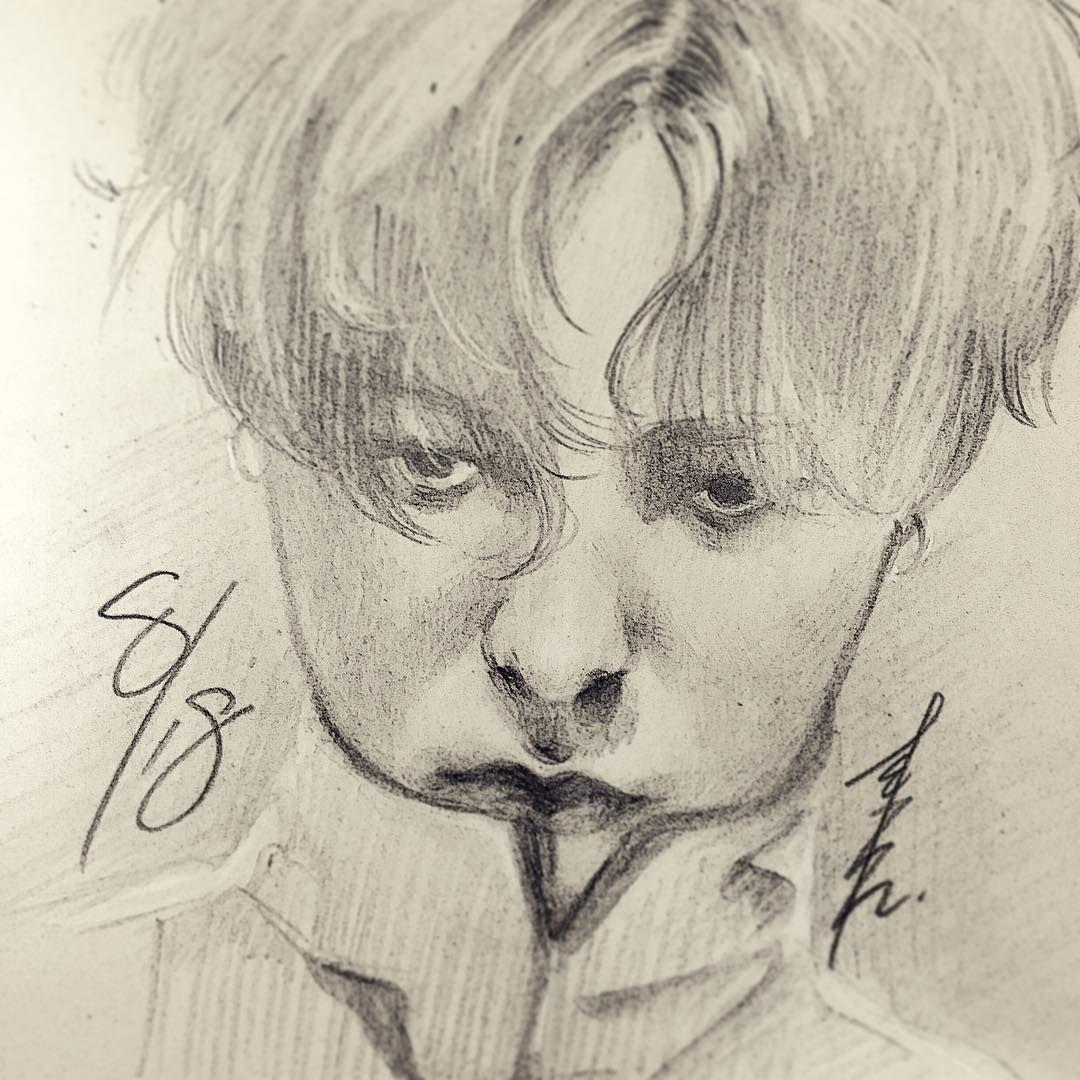 Hbd Gdragon Gd Zutter Illustration Art Sketch Draw Drawing