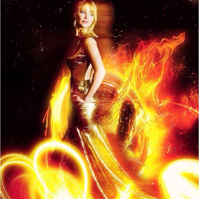 Still the girl on fire - Jennifer Lawrence