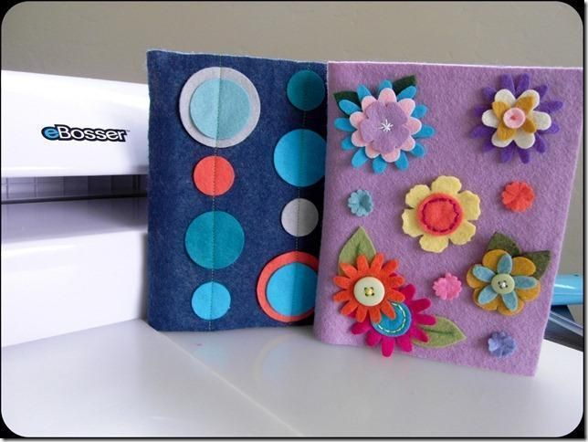 You Have To See Felt Covered Notebooks On Craftsy