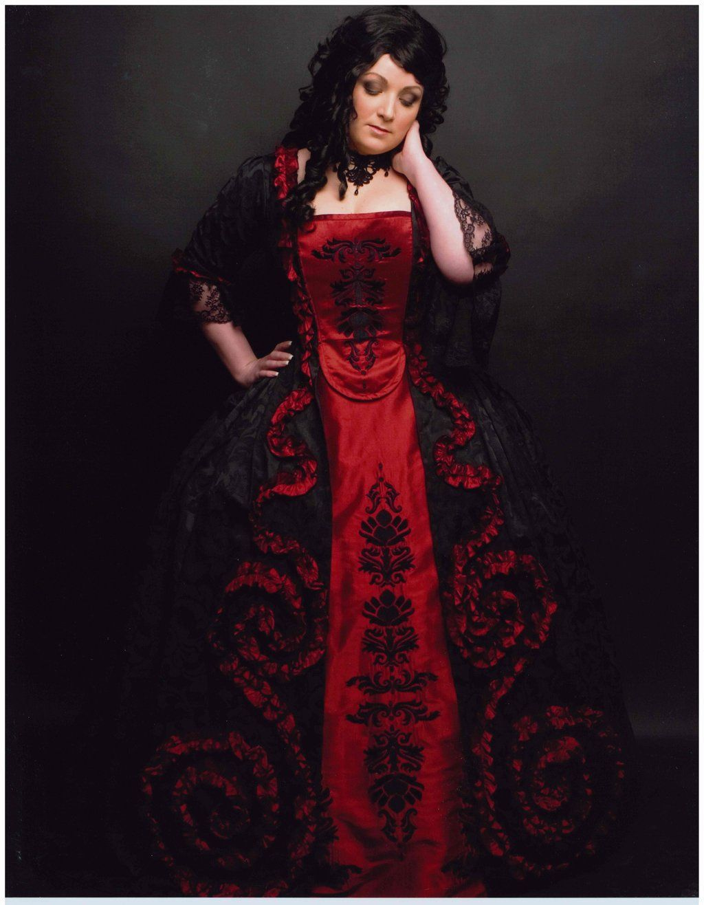 Masquerade ball gown by nightsneverland on deviantart costume
