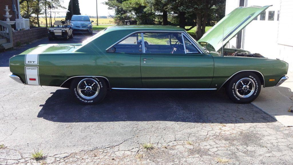 383 4 Speed 1969 Dodge Dart Gts