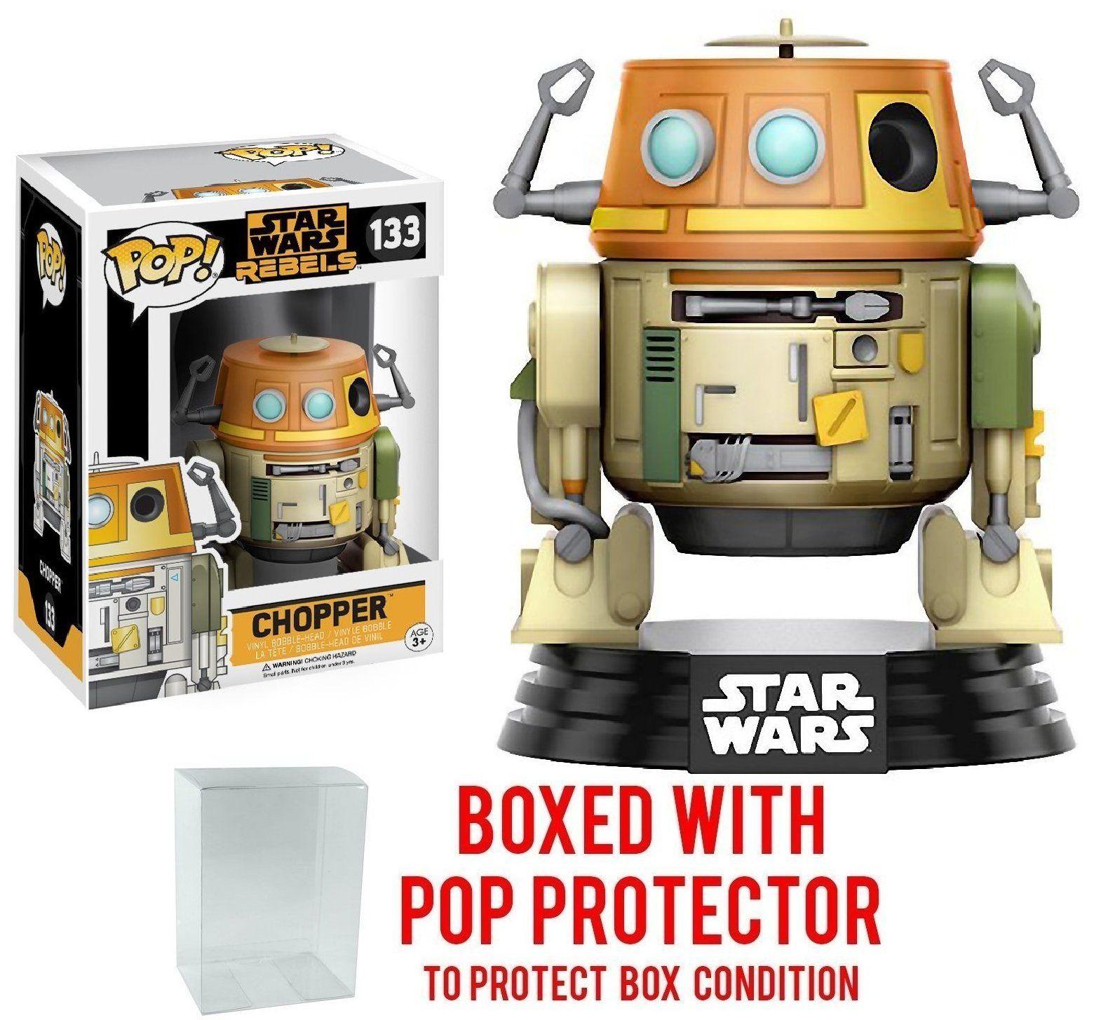Funko Pop! Star Wars Rebels Chopper *133 Vinyl Figure