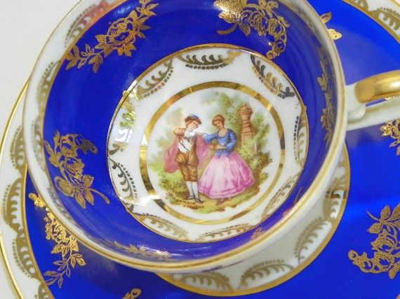 Vintage China Western Germany Love Story