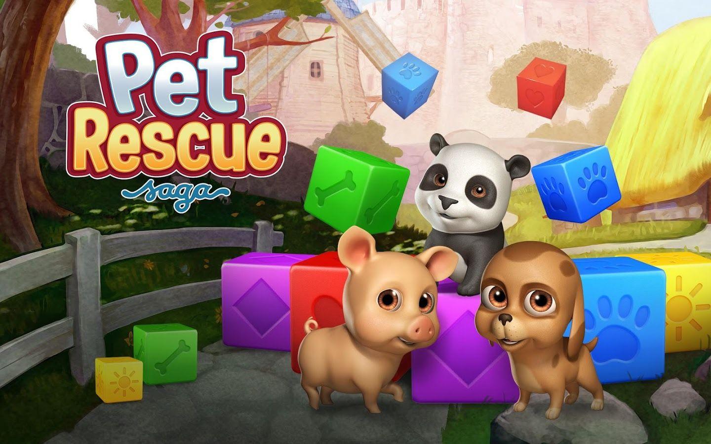 Pet Rescue Saga zrzut ekranu