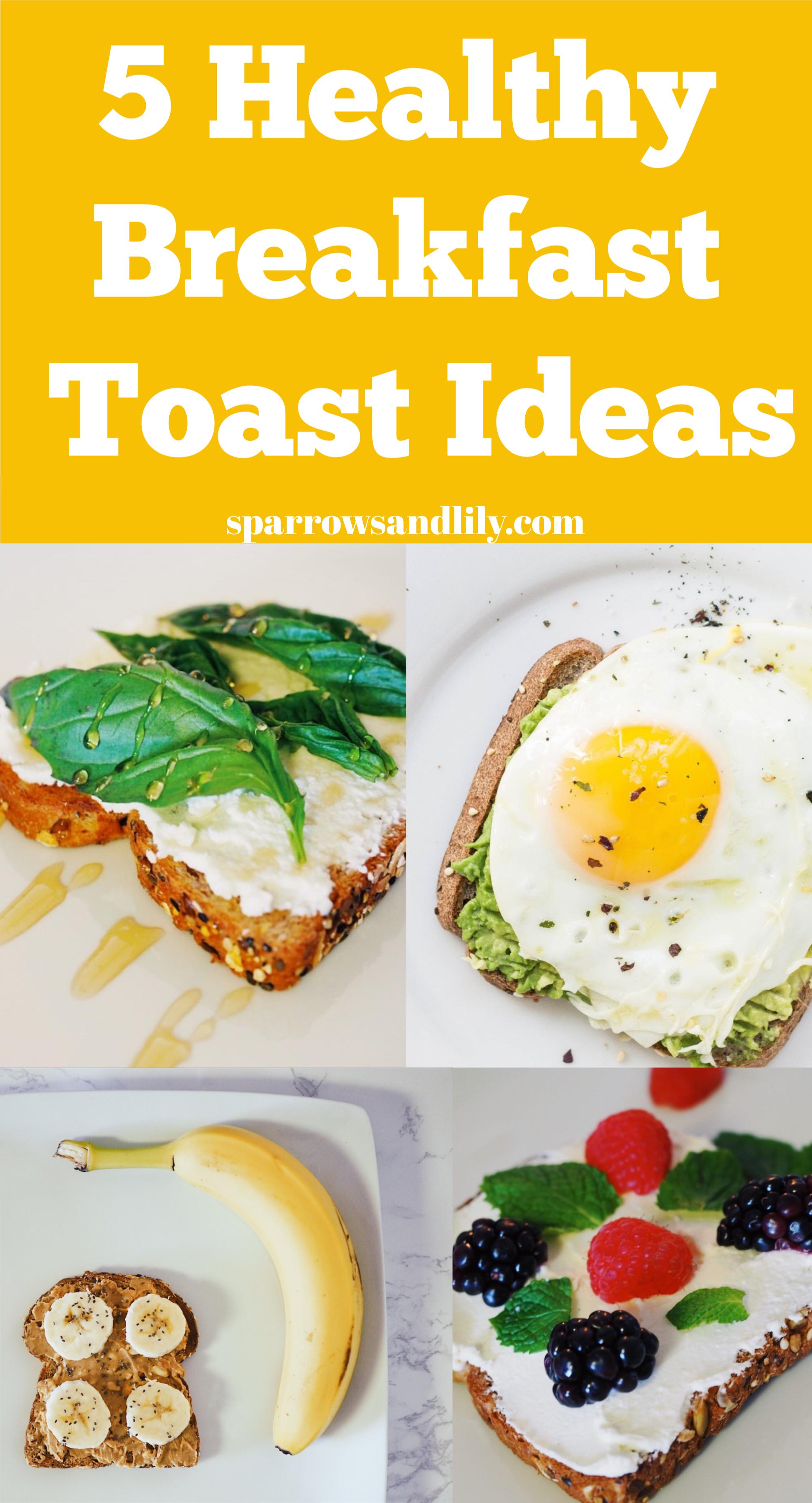 Healthy Breakfast Toast Easy Toast Recipes Easy Breakfast Recipe Easy Breakfast Quick Brea Healthy Breakfast Toast Healthy Breakfast Easy Toast Recipes