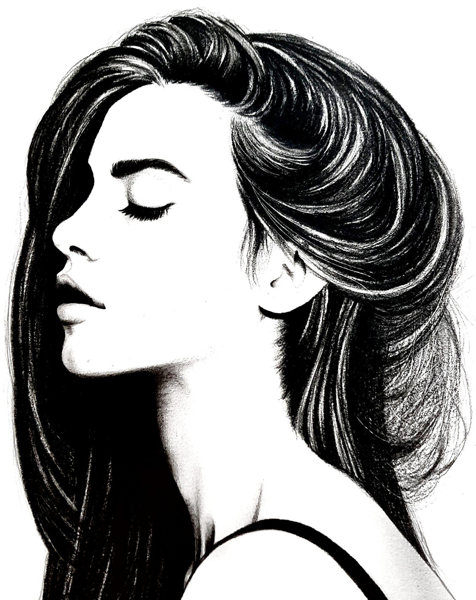 Картинки девушки головы
