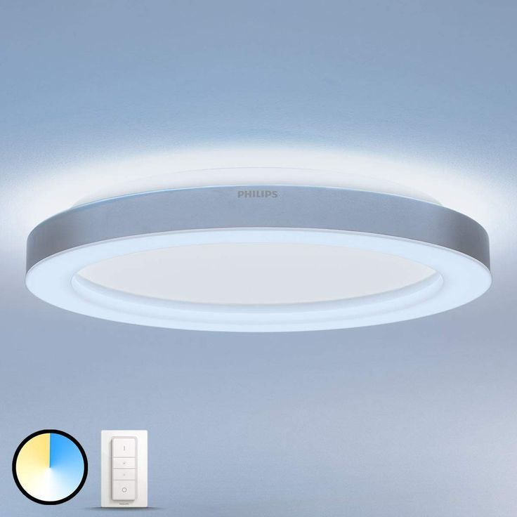 Philips Hue White Ambiance Adore Bad Deckenlampe Hue Philips Philips Hue