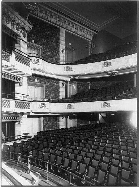 Interior Of The Astor Theatre New York City Circa 1906 Theatre New York City Broadway Stage