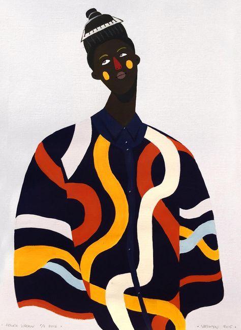 Photo of Velwyn Yossy's NEW Fashion Illustrations