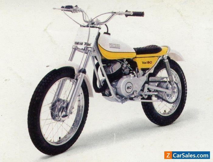 Yamaha Ty 80a Yamaha Ty80a Forsale Australia Vintage Motocross Vintage Bikes Trial Bike