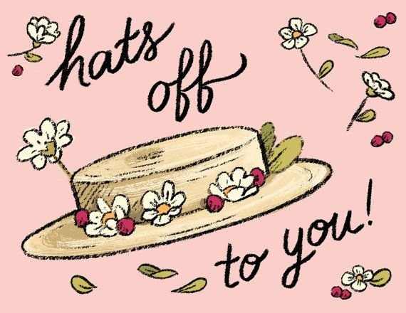 Hats Off To You By Carrieleighhobson On Etsy With Images