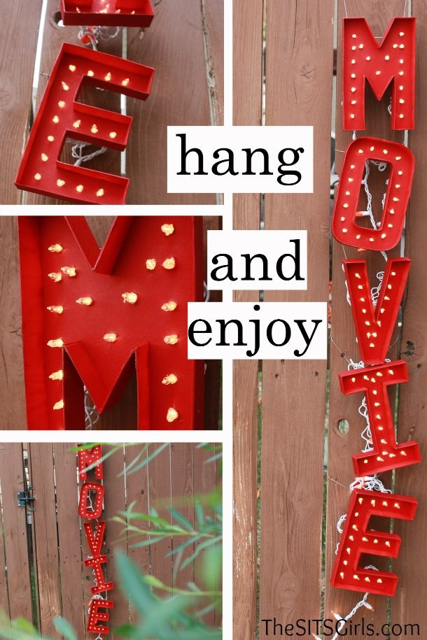 17 best images about diy marquee sign on pinterest marquee letters poster boards and easy diy