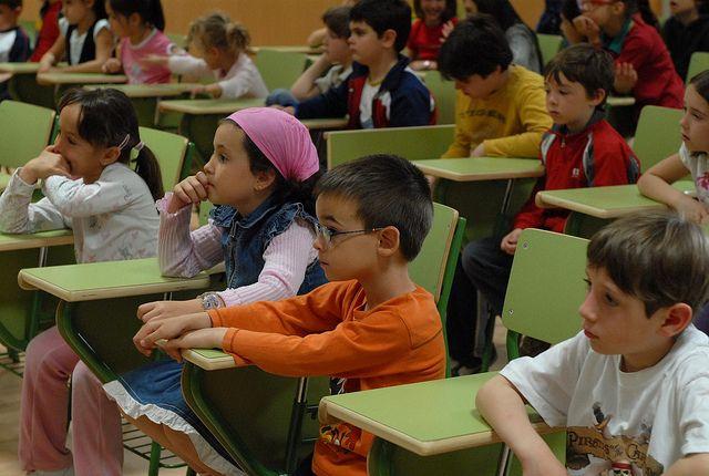 Foto de salón de clases