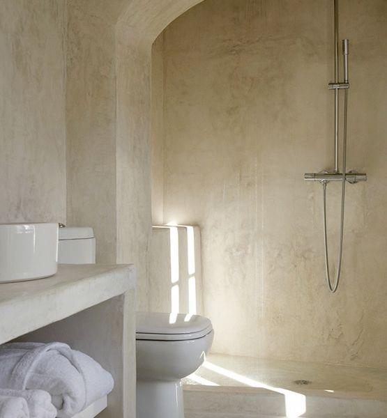 Minimalist Greek Bath Bathrooms That
