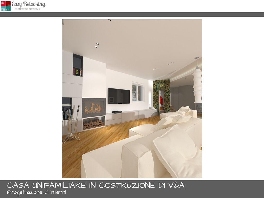 Progettazione soggiorno con cucina separata | Livingroom ...