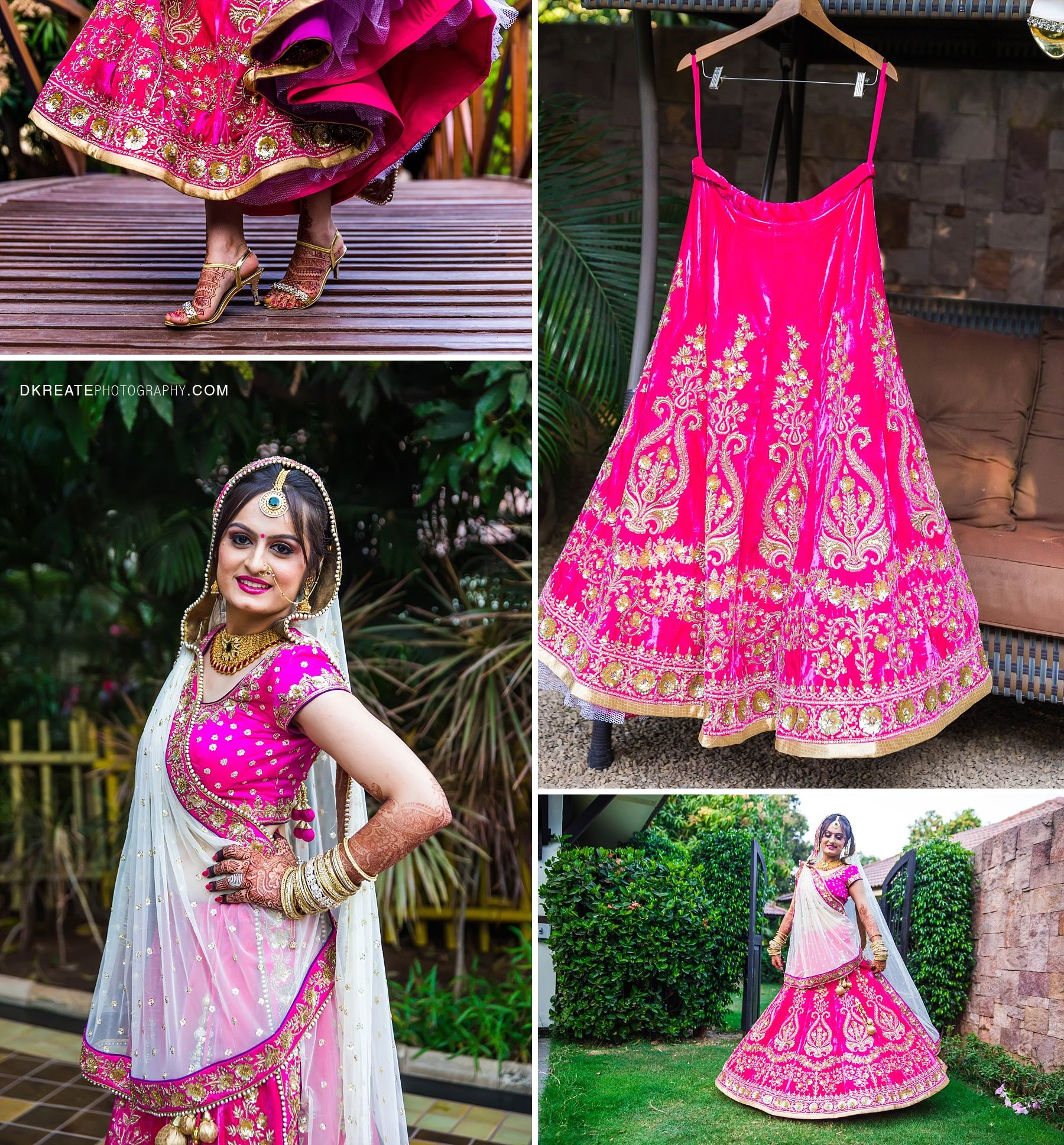 Indian Wedding Outfit Inspirations | DKreate Photography ...