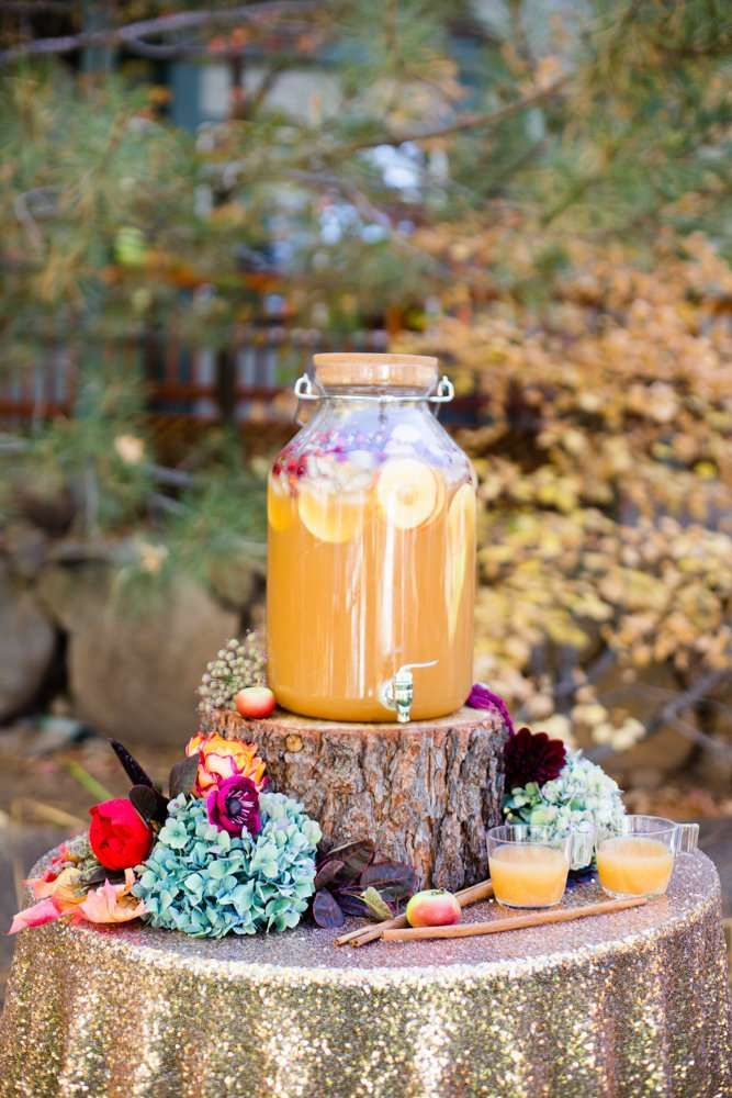 7637686c4066 Whimsical rustic fall party apple cider! See more party planning ideas at  CatchMyParty.com!