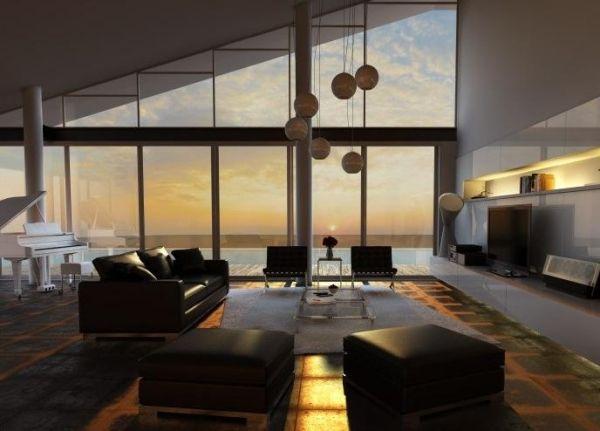 living room Interior living room Pinterest Living rooms - designer wohnzimmer schwarz
