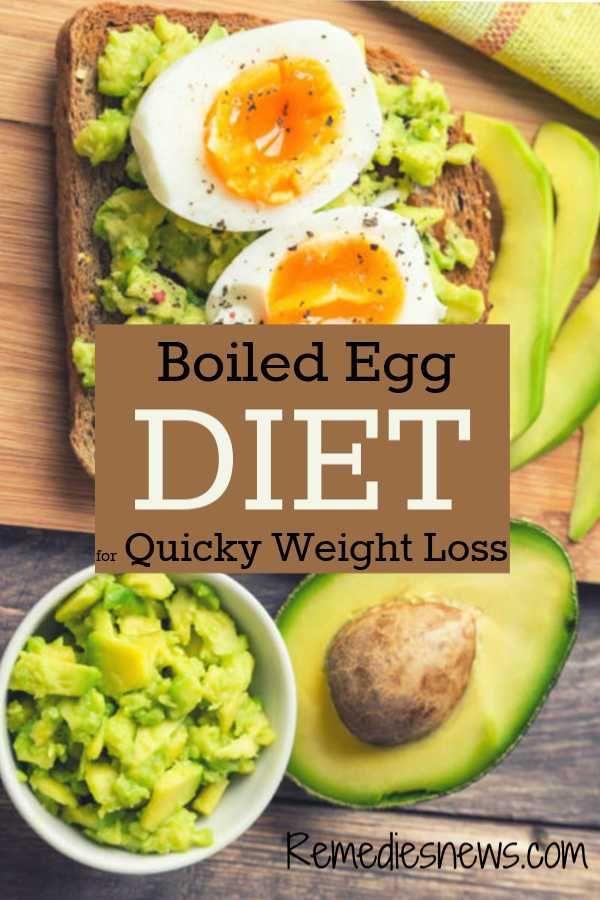 Easy Boiled Egg Diet Plan: Lose 24 Pounds in 2 Weeks #boiledeggnutrition