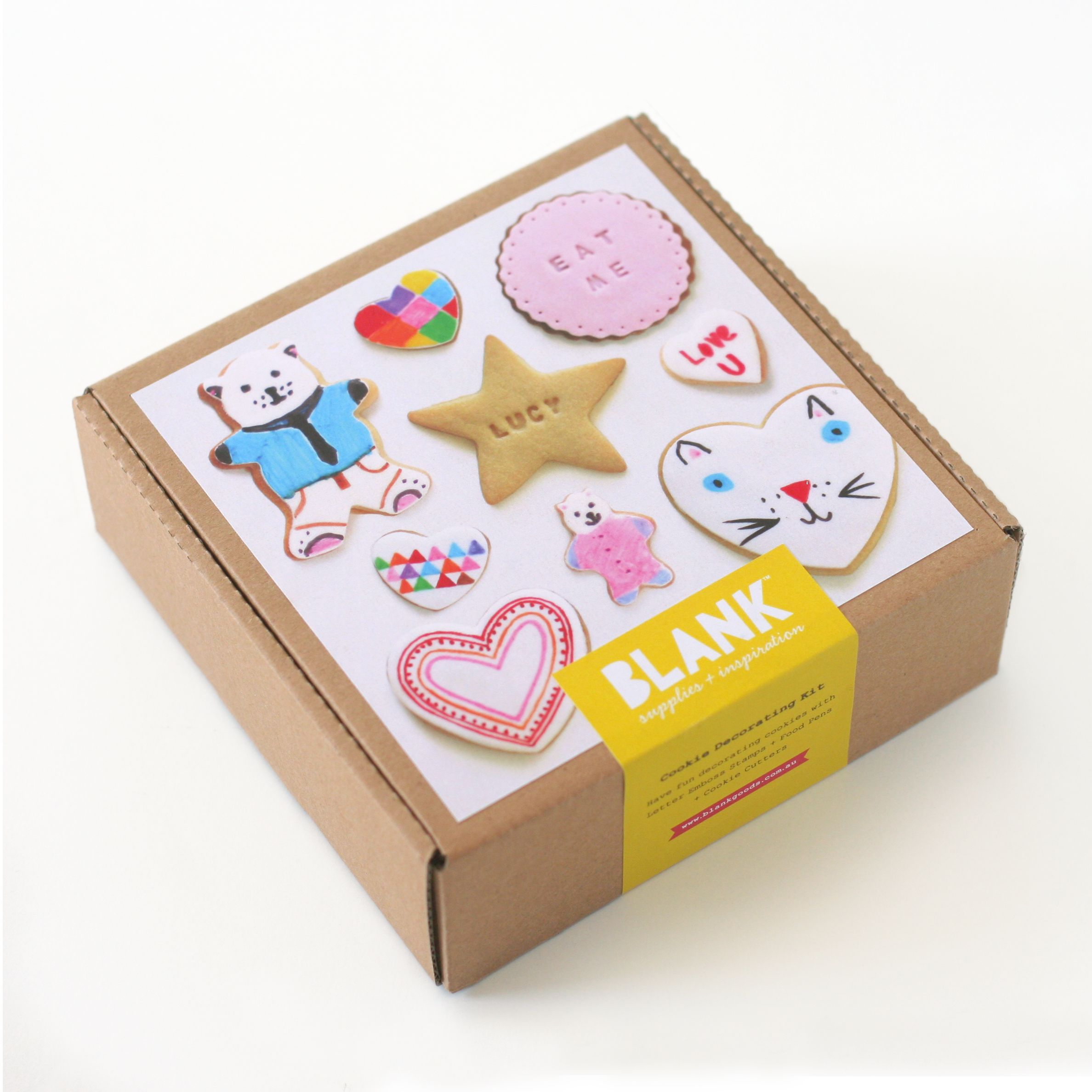 Cookie Decorating Kit BLANK supplies & inspiration www