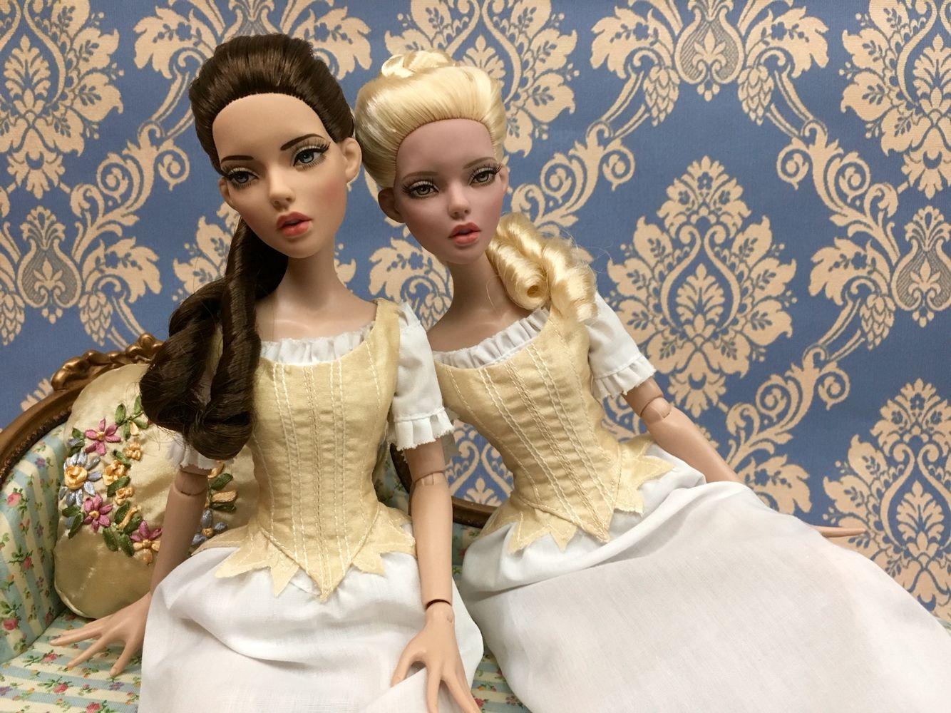 De Legrer family portraits. Deja vu collection. Robert Tonner Dolls.