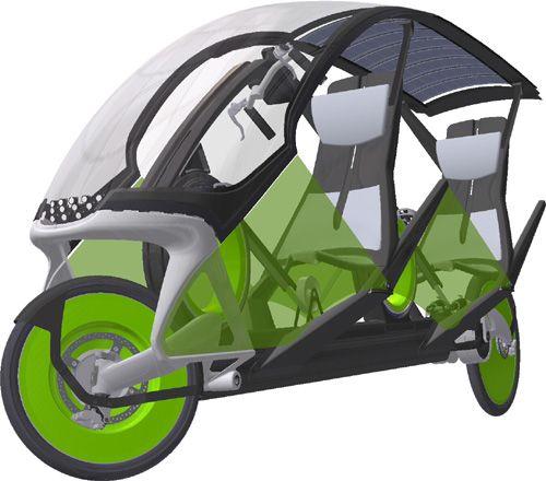 projekt l ufer muskelgetriebenes reisefahrzeug concept. Black Bedroom Furniture Sets. Home Design Ideas
