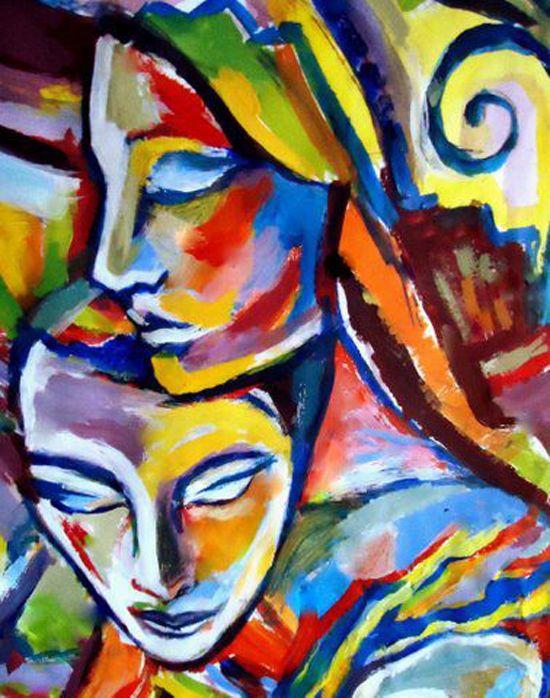 helenka artist | ... bold colored paintings by Helenka Wierzbicki - ego-alterego.com