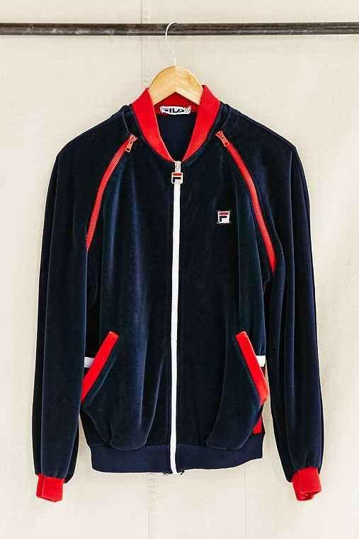 7b8ab21c0c4 1980s style velour Fila tracksuit Mens Velour Tracksuit, 1980s Style, Hoodie  Jacket, Nike