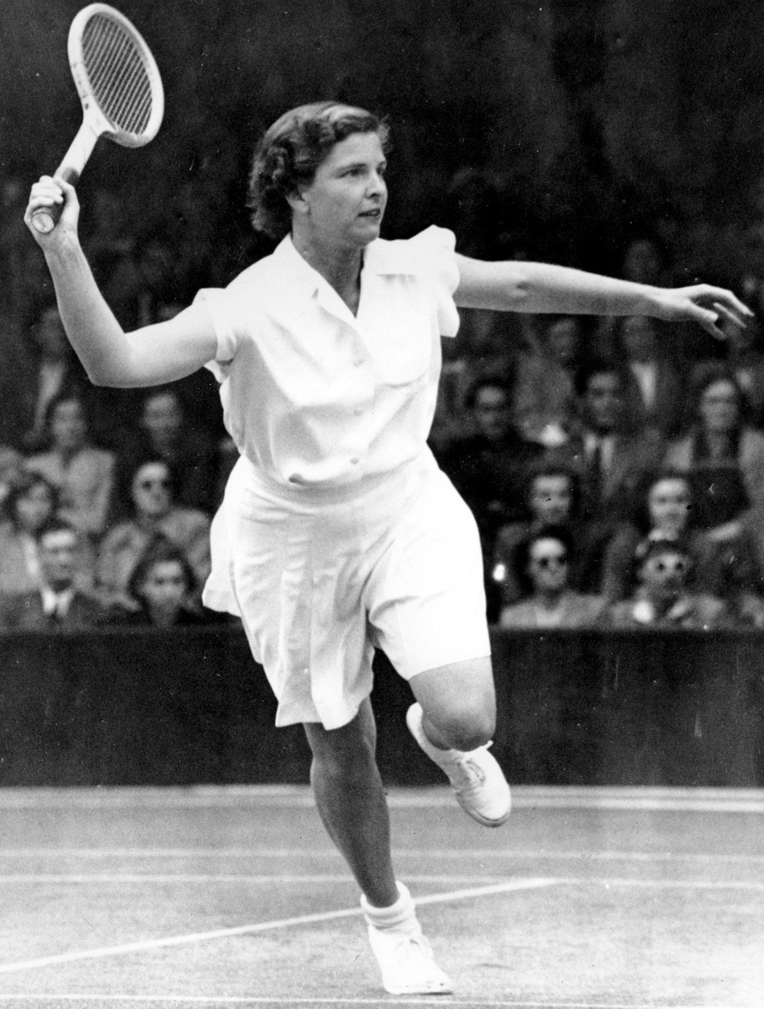 Margaret Osborne duPont 94 Tennis Champion Dies
