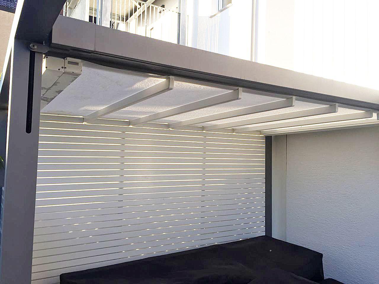 #Referenzen Rolladen Bauer  Stuttgart#Leiner#SunrainQ#Pergola#Markise#die  Outdoor Spezilalisten.de#Terrasse#Garten#absenkbar#Windstabil#Wasserabweisend#  ...