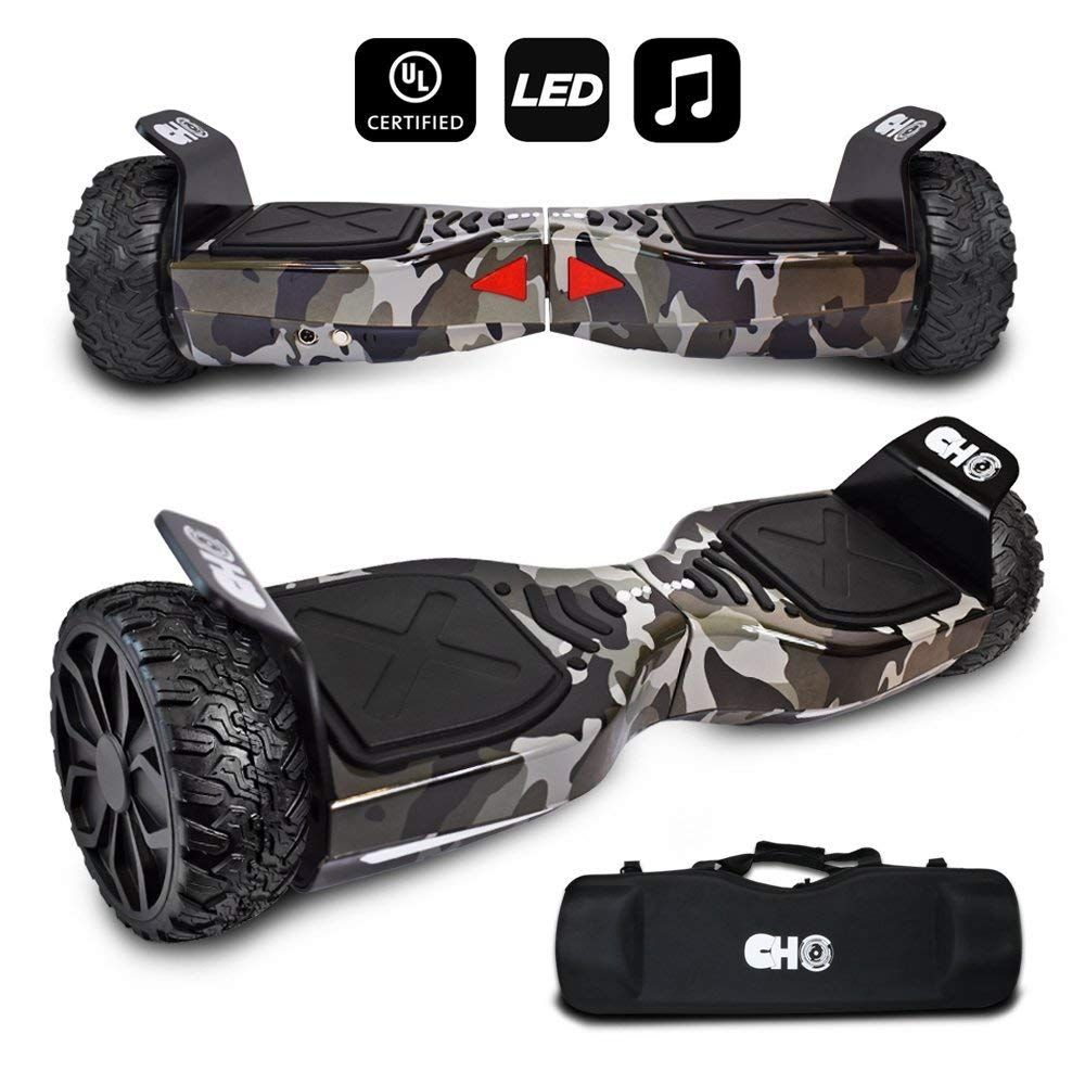 HOVERSTAR Hoverboard HS 2.0v Chrome Color Flash Wheel with LED Light Self Balancing Wheel Electric Scooter
