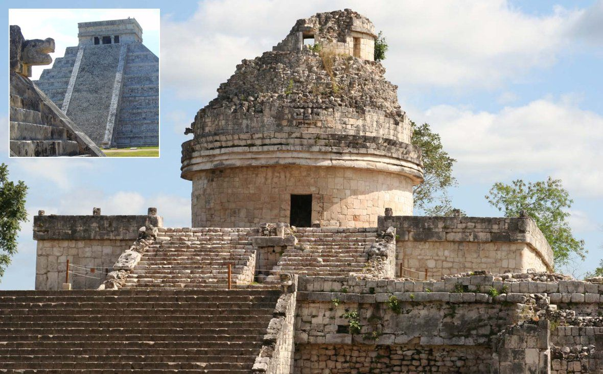 Chichen Itzá Mayan Cities City Leaning Tower Of Pisa