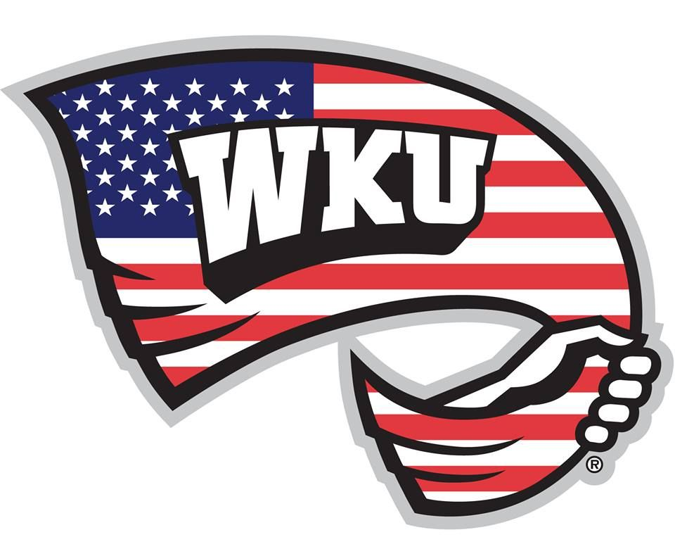 Image result for wku american flag