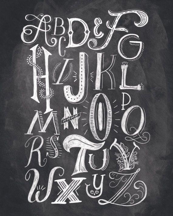 Dropcap Alphabet By Shaunalynnpanczyszyn On Etsy   Fonts