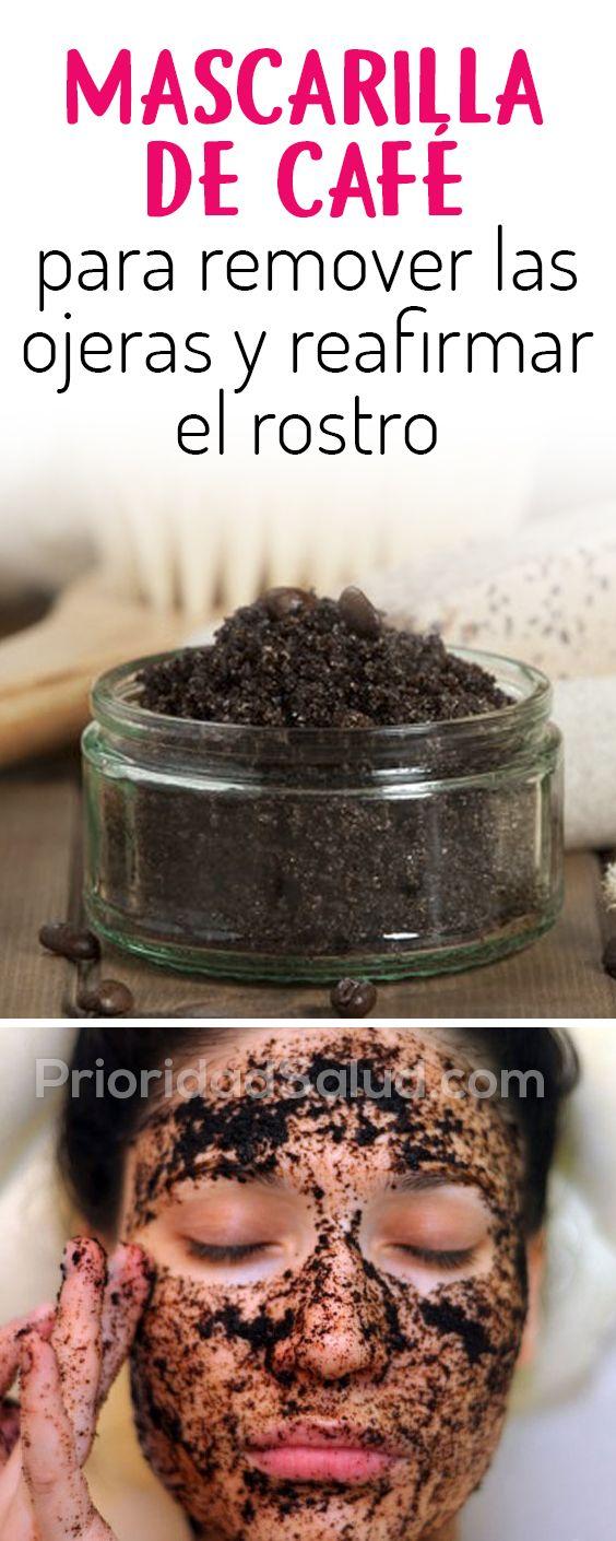Mascarilla de cafe para la piel